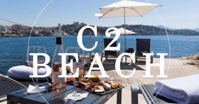 Hotel C2 Beach, une plage privée exclusive à Marseille